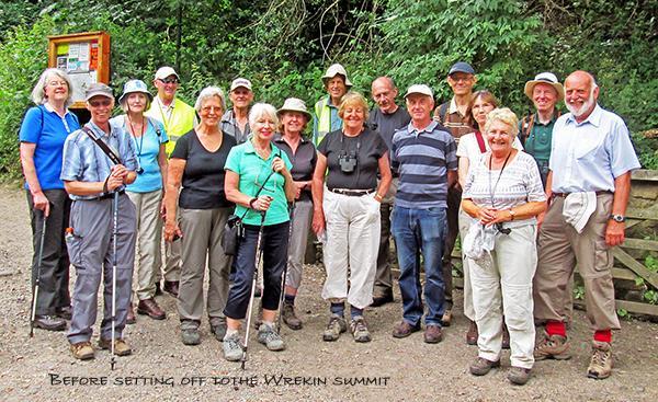 Geology Gp at foot of Wrekin_0233