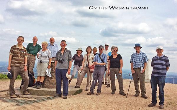 Geology Gp on Wrekin Summit 2_0143[1]