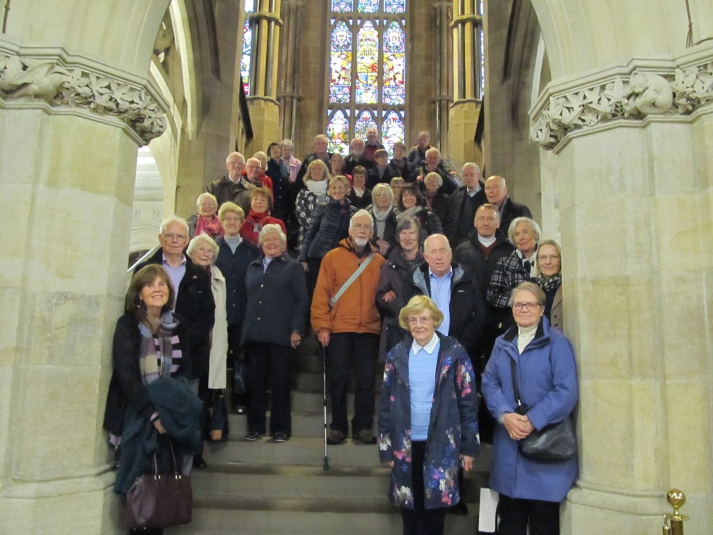 VISIT TO ROCHDALE TOWN HALL